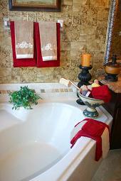 luxury bathroom jacuzzi tub