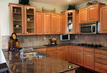 custom kitchen remodeling with lots of counterspace