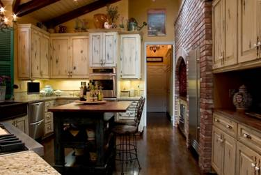 french country custom kitchen remodel image 5