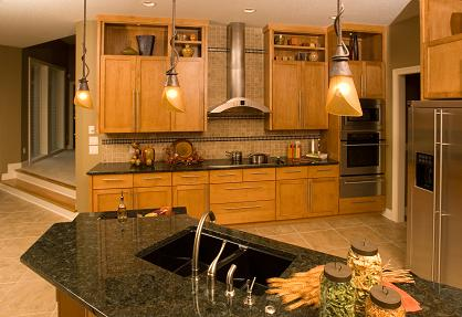 kitchen remodel with granite countertops