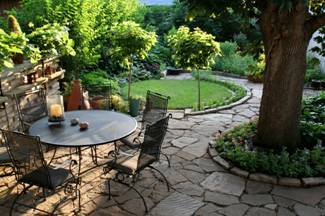 landscaping rock patio and path image2