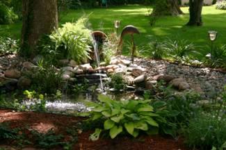 landscape design garden pond image 1