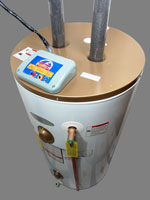 Plumbing Hot Water Heater Picture