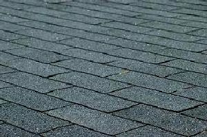 black asphalt shingle roofing